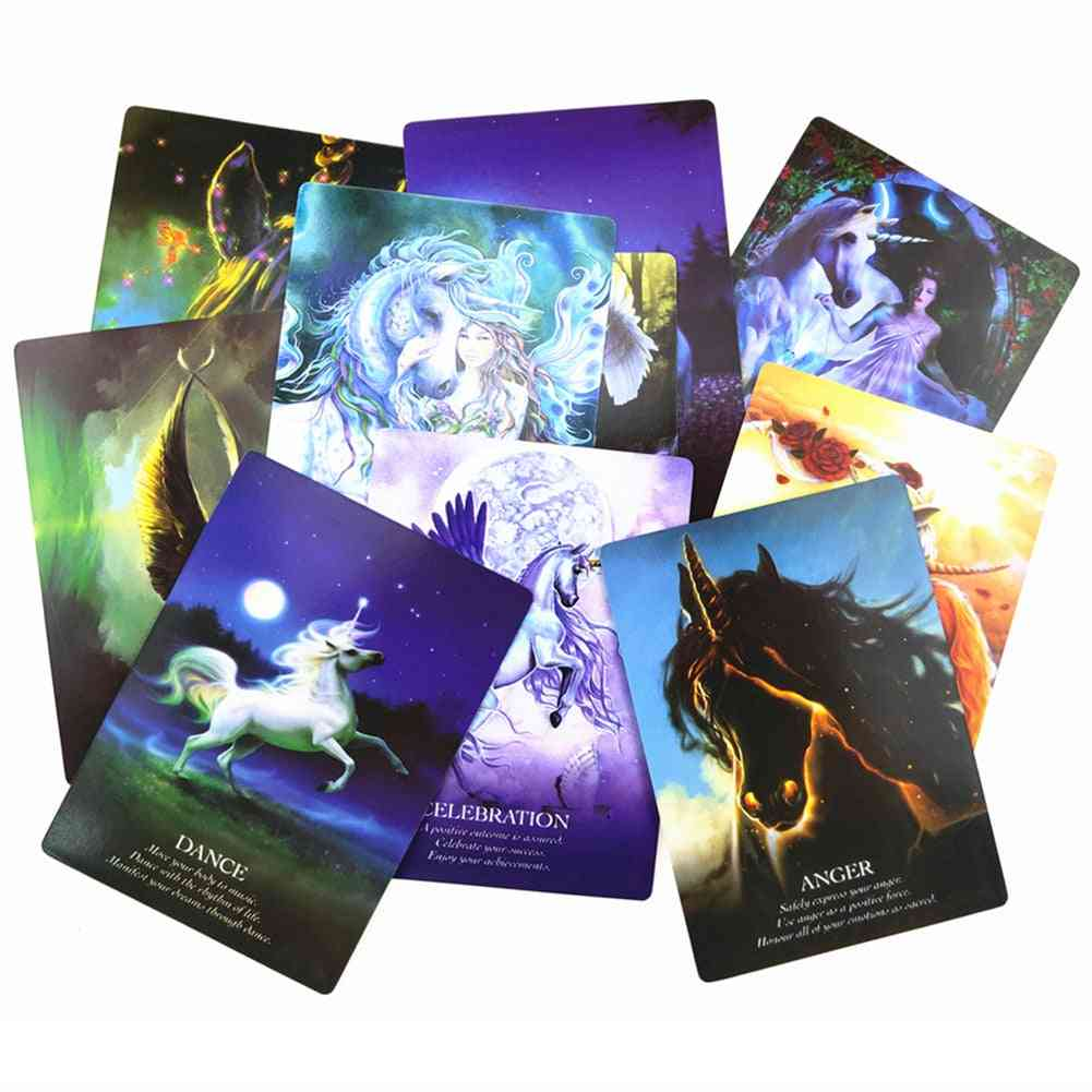 Tarot Card English Edition Mysterious Board Family Party Cards Game