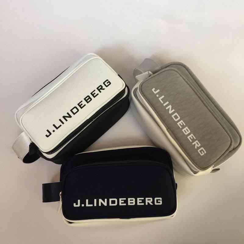 Golf Bag Small Wallet, Outdoor Sports Two Zipper Pockets, Ball Marker Key Handbag