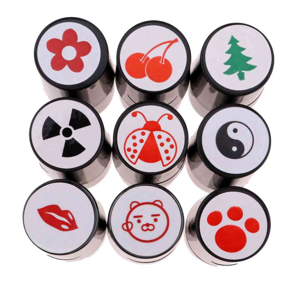 Perfeclan Quick-dry Plastic Golf Ball Stamper, Stamp Marker Impression Seal