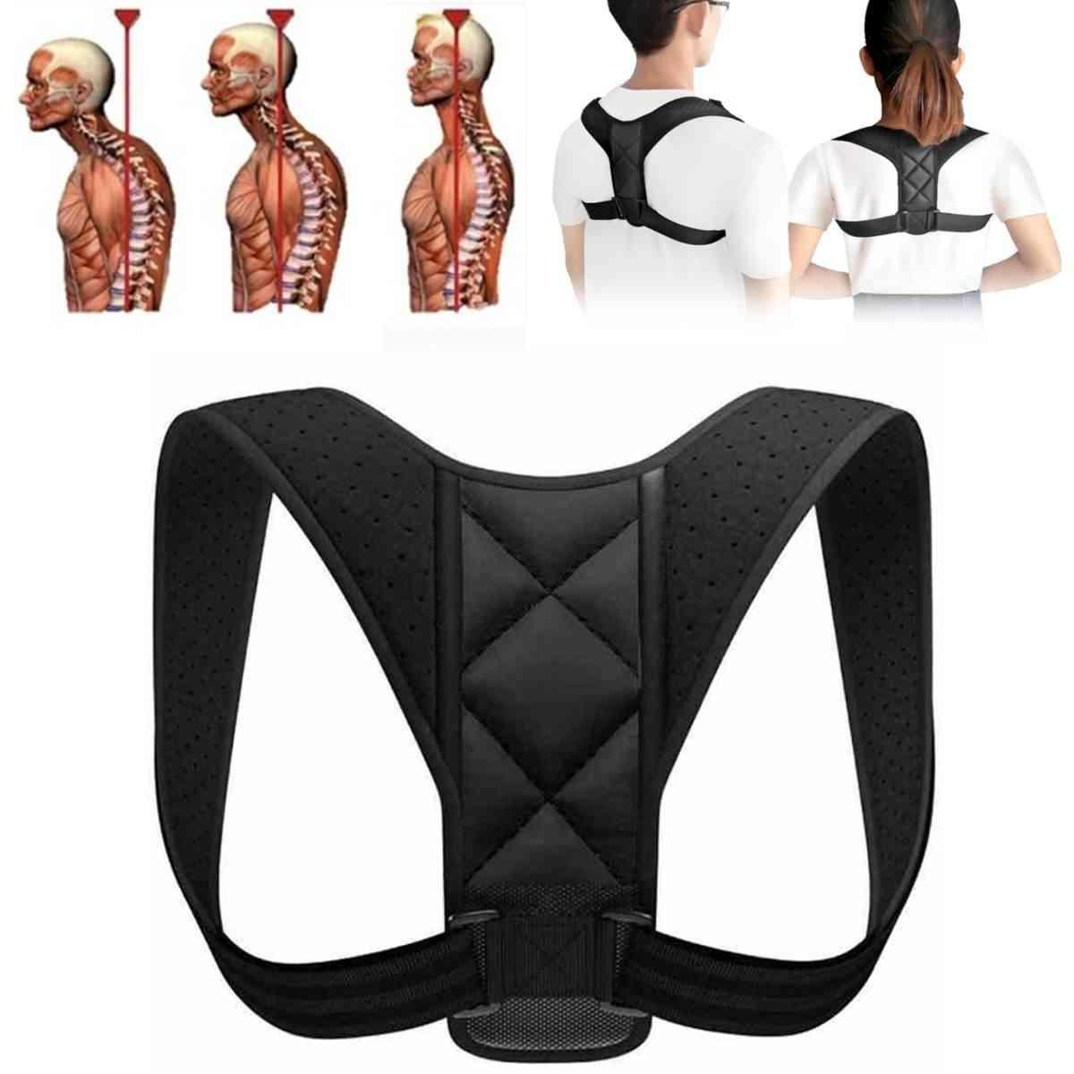 Kyphotone Back Correction Band Posture Brace, Anti Humpback Clavicle