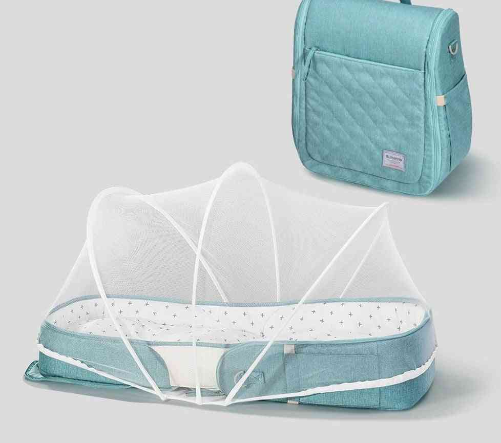2in1 Baby Diaper Bag Newborn Carry-on Nest Bed Activity & Gear