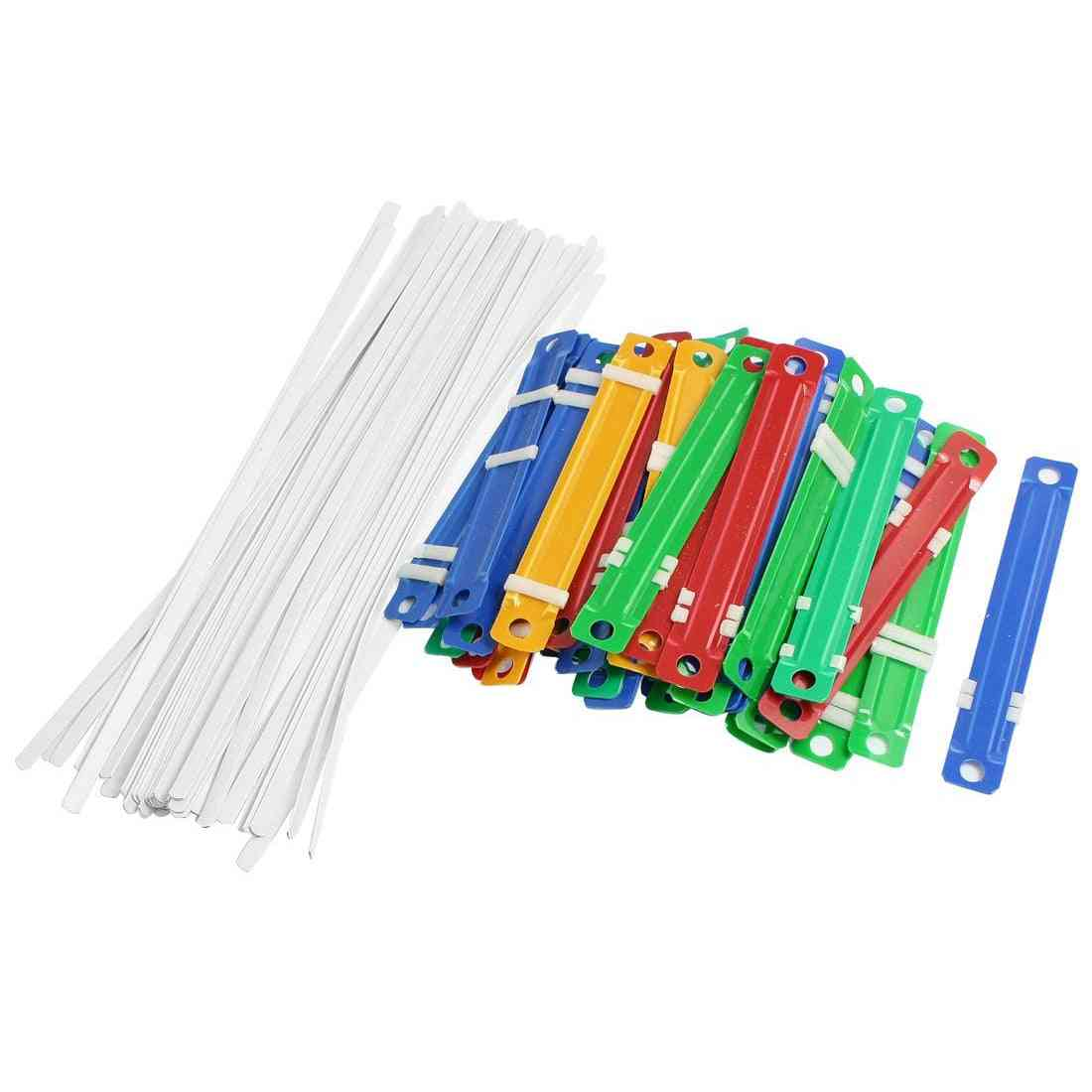 Office & School Plastic Binding, Two-piece Document Paper Fasteners