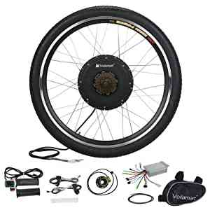 36v10ah Lithium Battery Ebike, Electric Bike Conversion Kit Front Rear Hub Motor Wheel