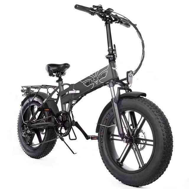 Electric Bike- Aluminum 500w Powerful Electric Bicycle, Mountain Snow Ebike