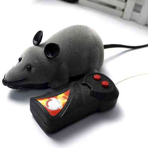 Rc Animals Wireless Remote Control Electronic Tricky Rat Mouse Mice Cat Puppy Toy For