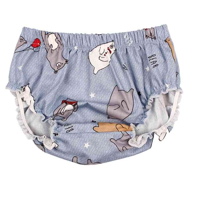 Cartoon Printed Cotton Bloomers For Babies