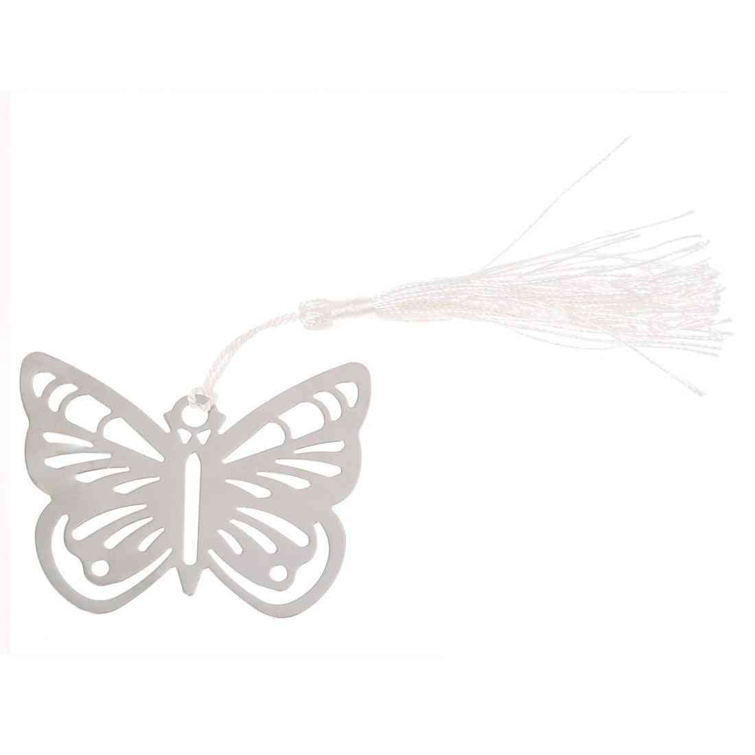 Bookmarks Bookmark Fringe Butterfly Stainless Steel For Books