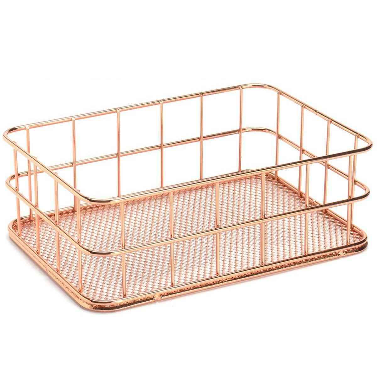 Metal Wire Storage Basket