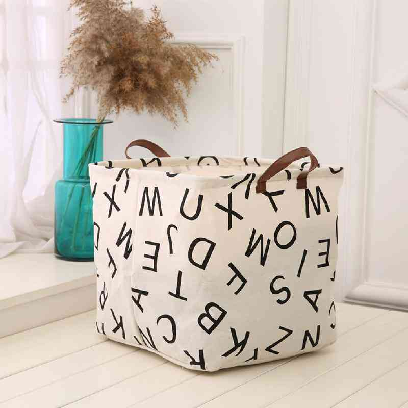Spot Contracted Cloth Art Large Box Foreign Trade Bag, Storage Box
