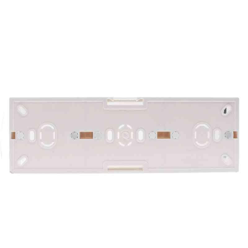 External Mounting Box For Triple Touch Switch Or Socket