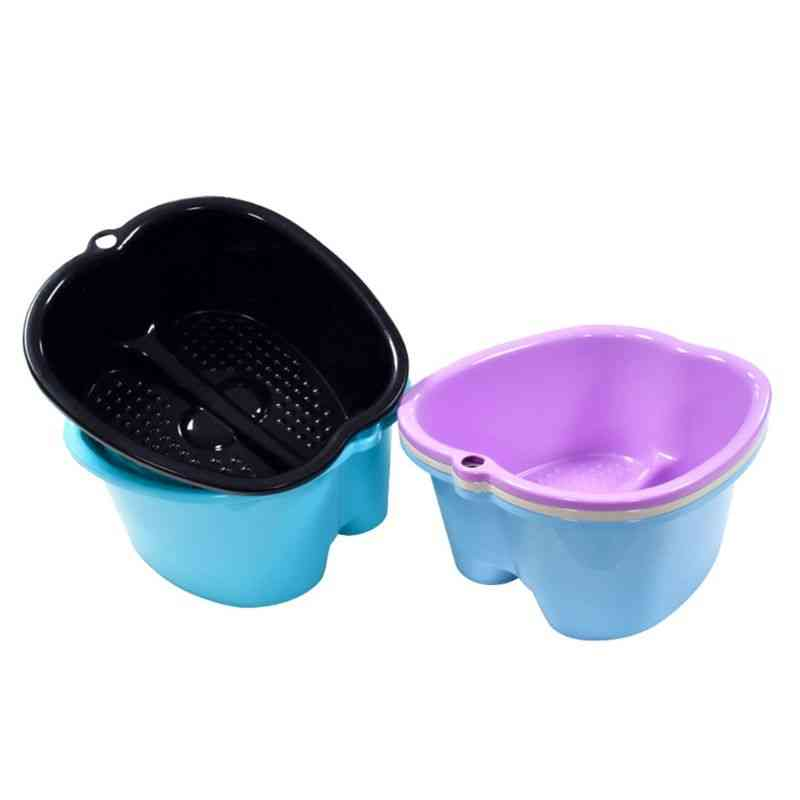 Large And Portable Plastic Foot Spa Tub