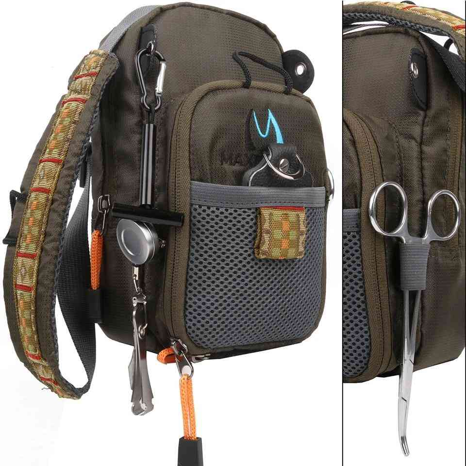 Multi-purpose  Fishing Backpack With Tool And Accessory
