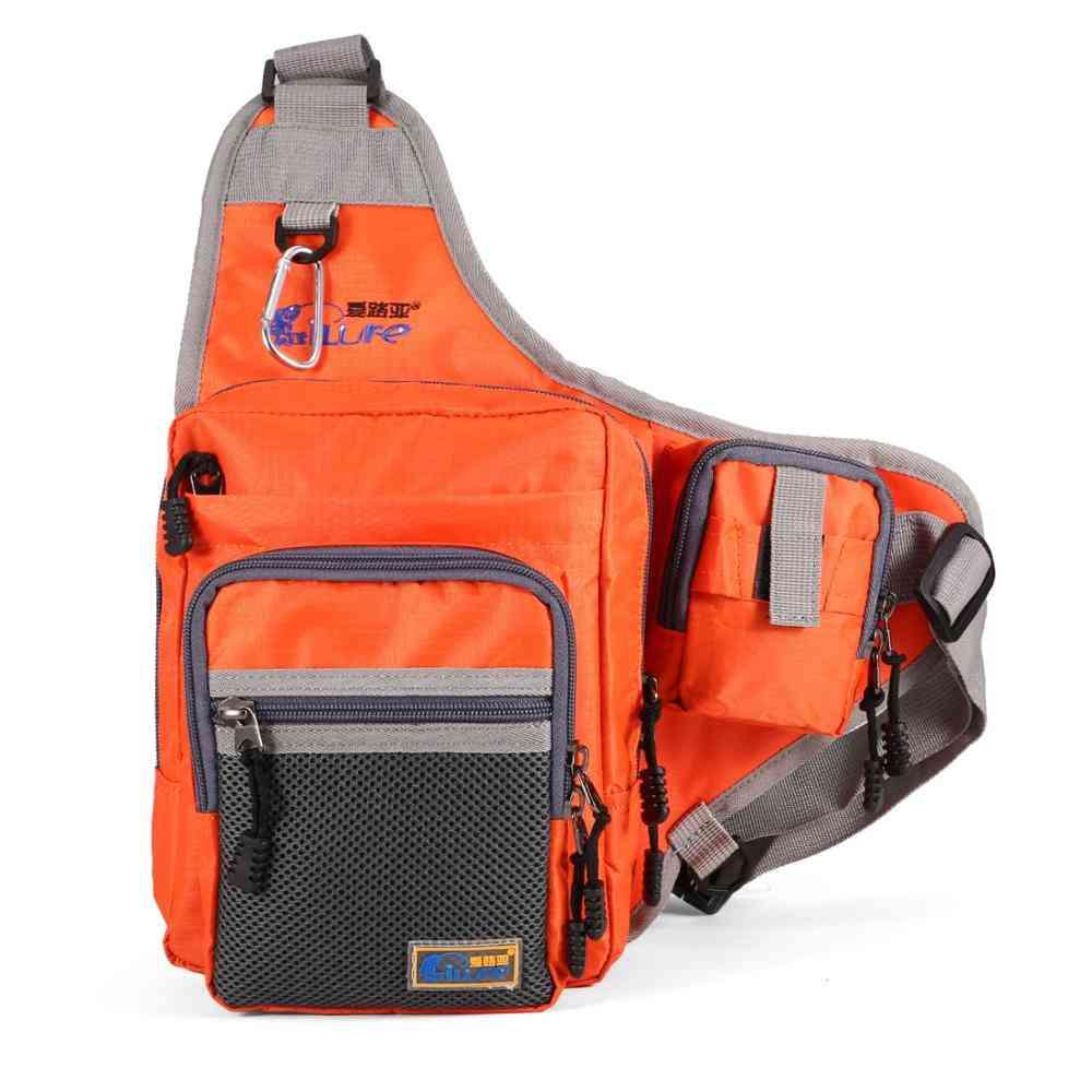 Waterproof Rod Cover Fishing Bag, Large Capacity Backpack Outdoor