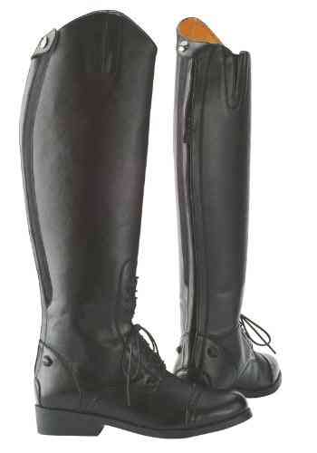 Knee Length Horse Riding Boots With Back Zipper