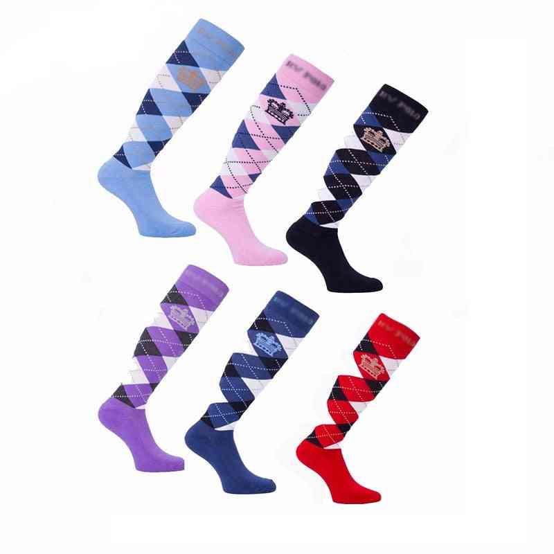 Special Equestrian Socks, Men And Women Knight Long Sock