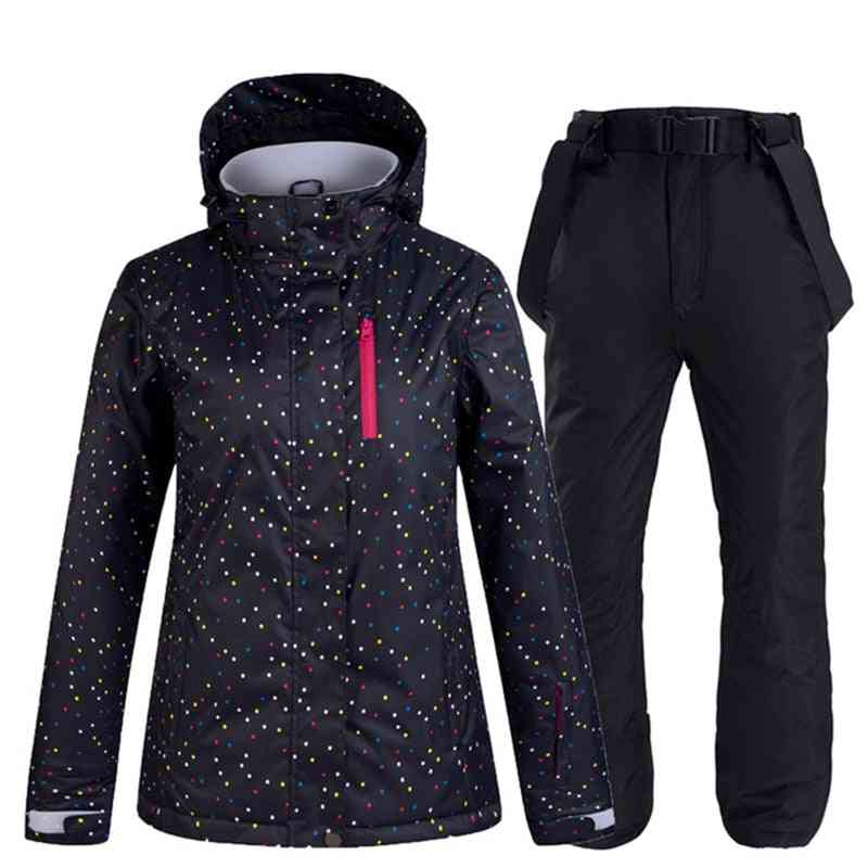 Winter Skiing / Snowboarding Suit, Jacket And Pants Set