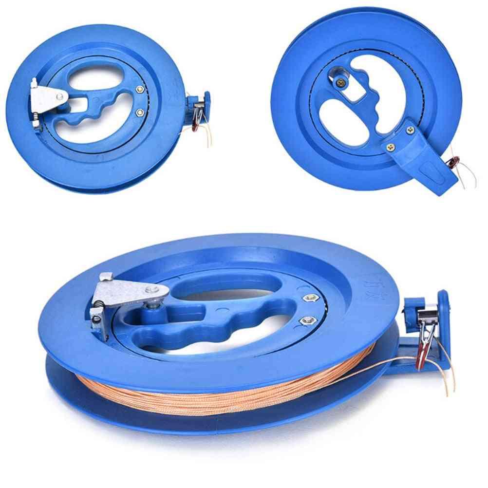 Kite Flying String Line Reel, Grip Wheel Winder Ballbearing Handle Tool