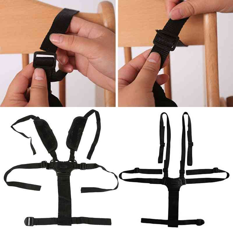 Baby Chair Portable 5 Point Harness Strap For Protection