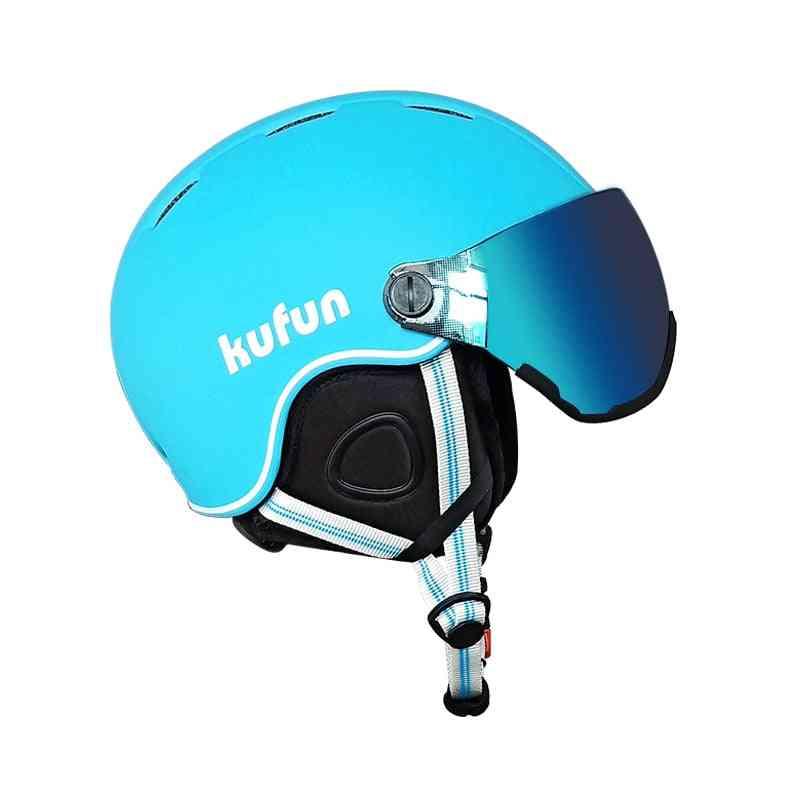 Ski Helmet Goggles Integrally-molded Ultra Light  & Women