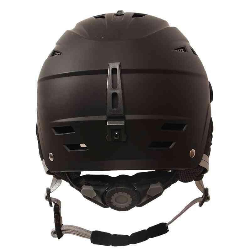 Goexplore Best Ski Helmets, Outdoor Sport Light Safety With Visor Skateboard / Snowboard