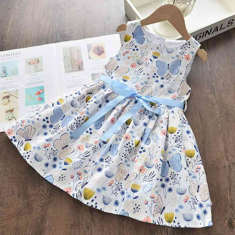 Summer Dress, Floral Sweet Suits Butterfly