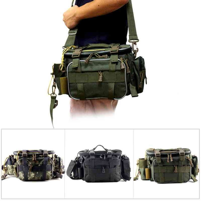 Multifunctional Waterproof Fishing Bag, Outdoor Sports Waist Pack