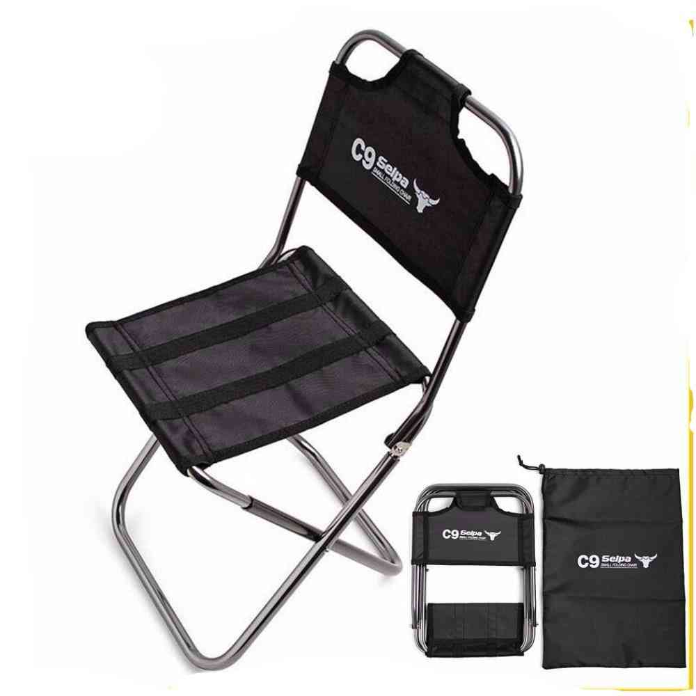 Light Outdoor Fishing Chair By Strong Aluminum Alloy Nylon Folding Seat Stool