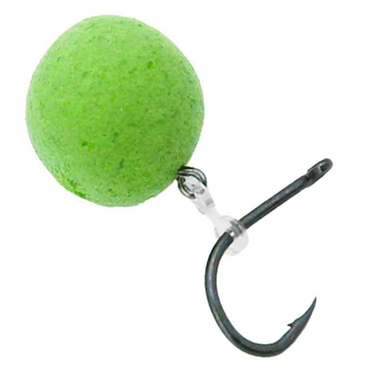 Fishing Accessories Bait Sting Boilies Pin With Clear Rubber Corn Ronnie Hair Rig Carp