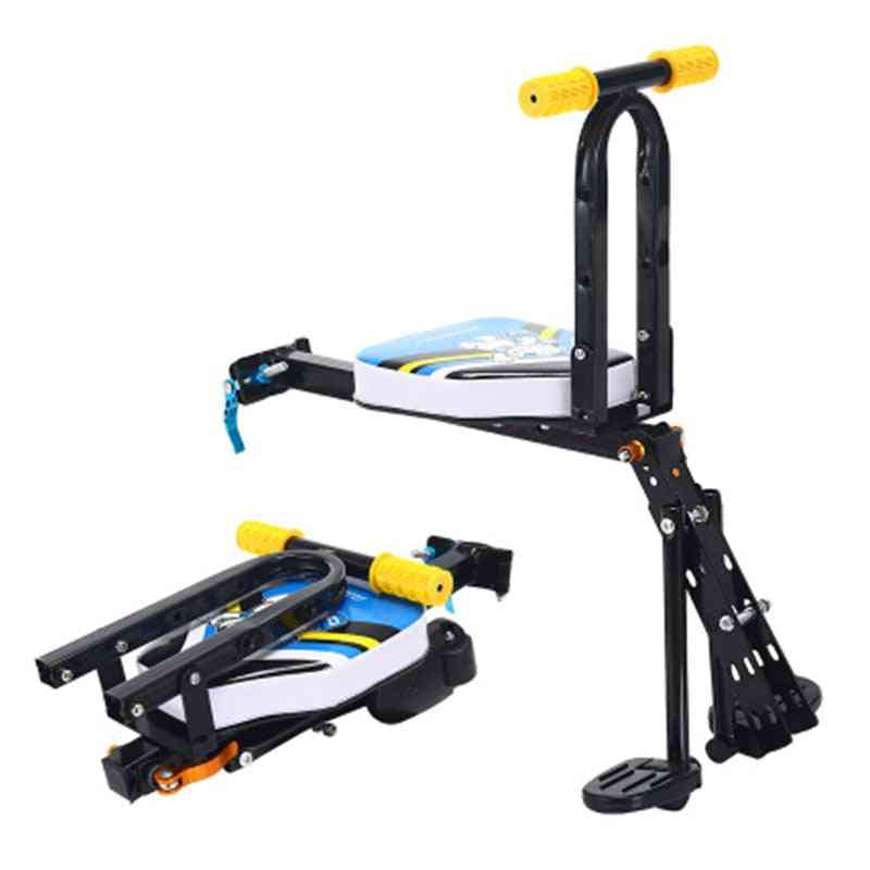 Portable Foldable Bicycle Carrier Baby Seat For Cruiser Bikes