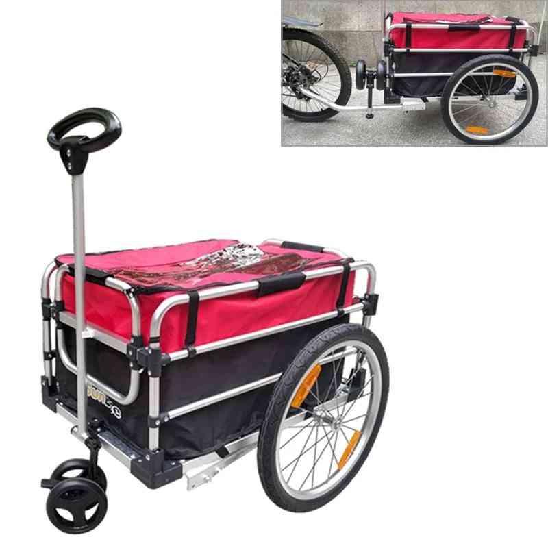 Multifunctional Bike Cargo Trailer And Shopping Cart