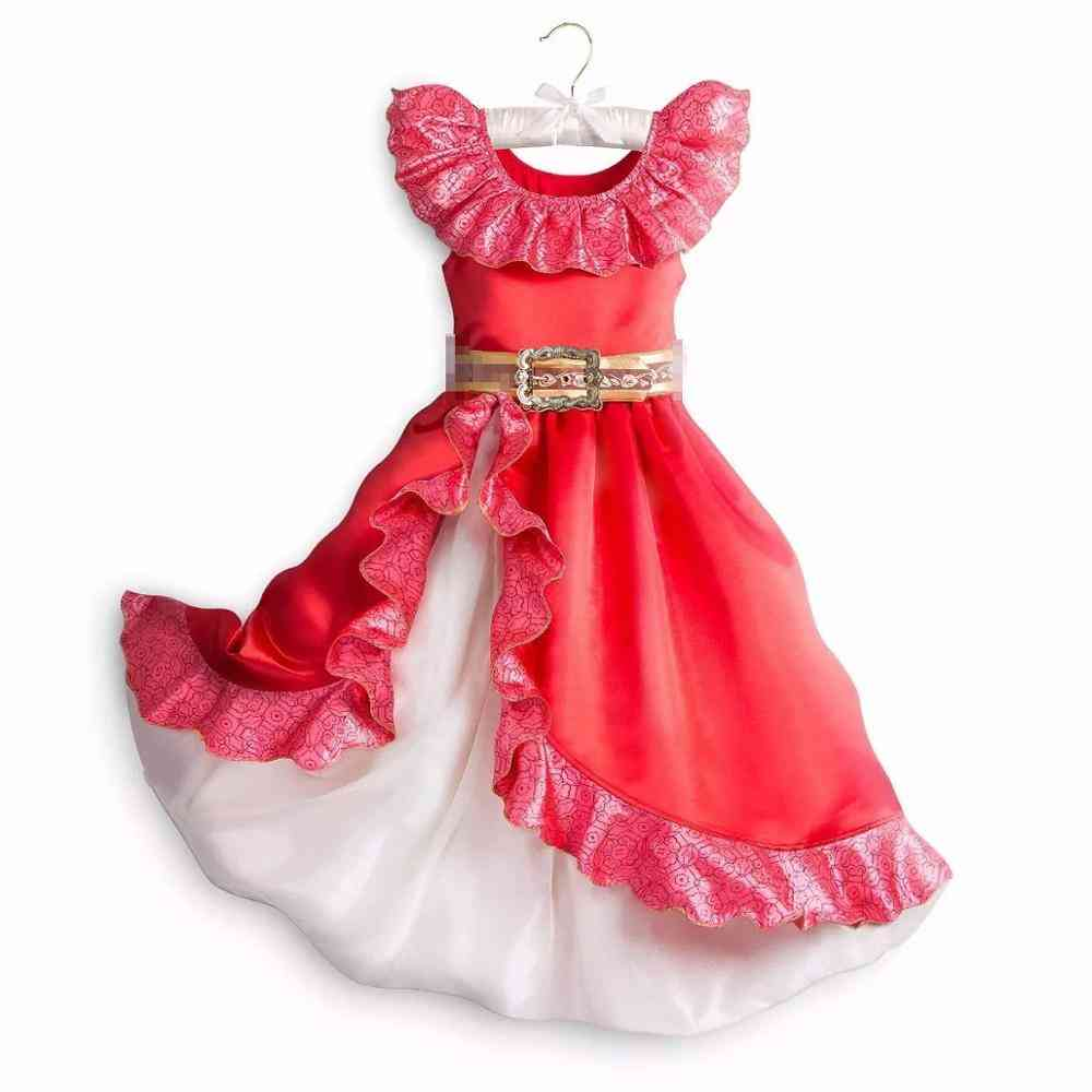 Girls Princesses Dress Up, Kids Fancy Beauty Costume