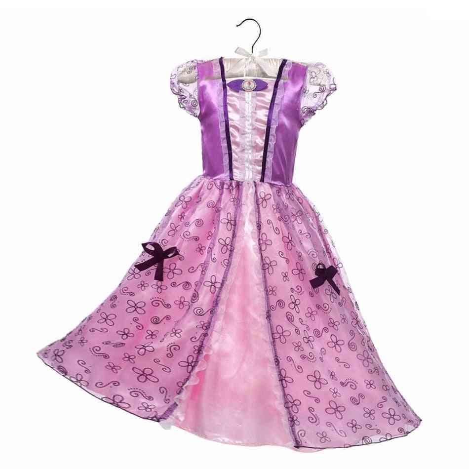 Princesses Girl Dress-fancy Beauty Costume