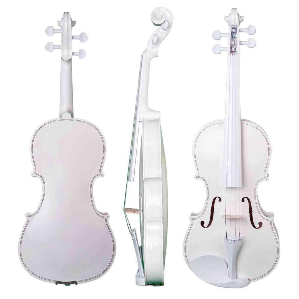 Fiddle Violins Set- Use 4/4 Violin, W/case Bow Rosin