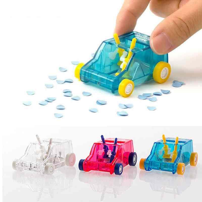 Toy Car Table Dust, Pencil Eraser Dust-sweeper For Office Desk Set