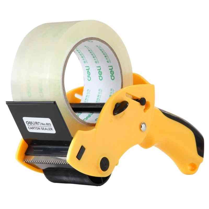 1pc Manual Packing Tape Dispenser And Cutter Machine