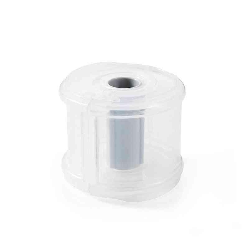 Simple Washi Tape Cutter,  Transparent Holder