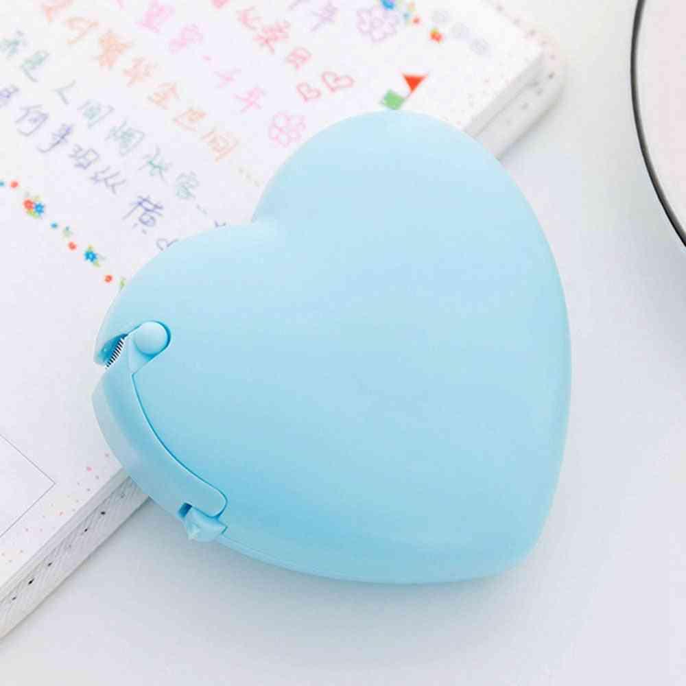 Portable Love Heart/donut Shape, Masking Tape Cutter And Dispenser