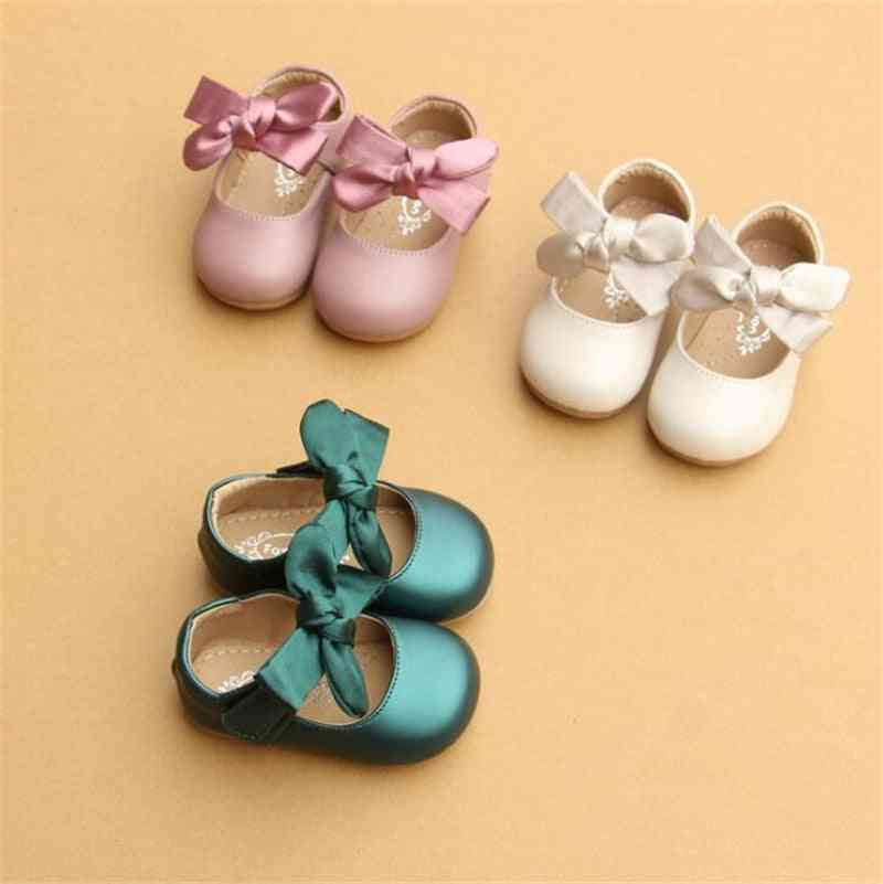 Cute Bowknot Party And Wedding Shoes For Newborn Babies