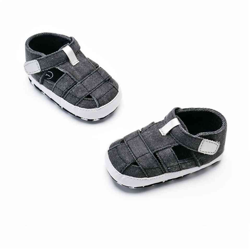 Canvas Sandal With Soft And Anti-slip Bottom  For Newborn Babies