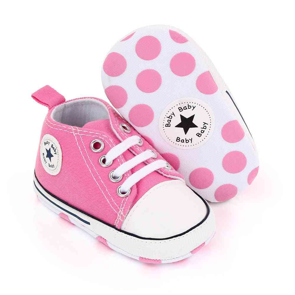 Baby & Shoes, Canvas Sneakers Anti-slip Infant First Walkers