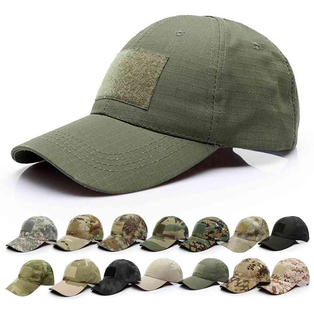 Adjustable Baseball Cap, Tactical Summer Sunscreen Hat