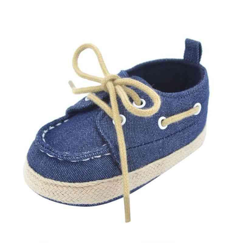 Baby Boy Soft Sole Sneaker Crib Shoes