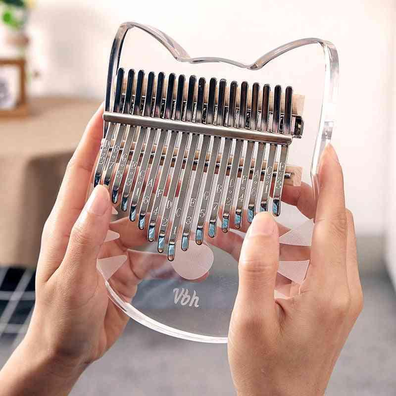 Crystal Acrylic Design Thumb Pianos-kalimba