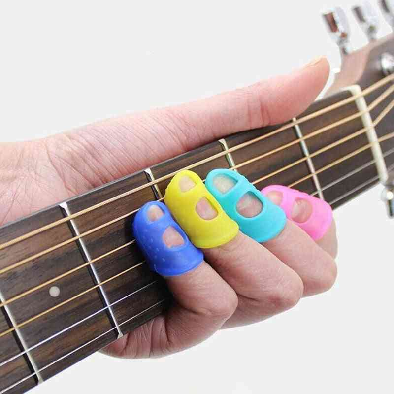Guitar Fingertip Protector Silicone String Press Pins