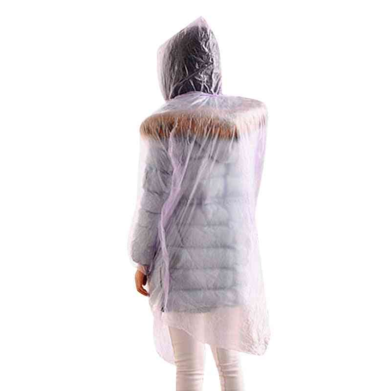 Disposable Poncho Raincoat For Emergency