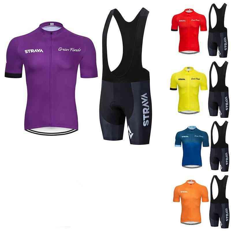 Men's Cycling Jersey And Shorts-clothing Sets