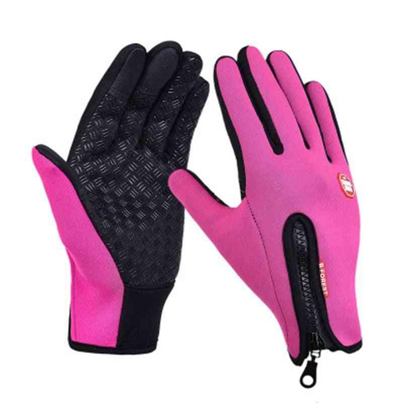 Men & Women Windstopers Gloves, Anti-slip Windproof Thermal Warm Touchscreen Glove