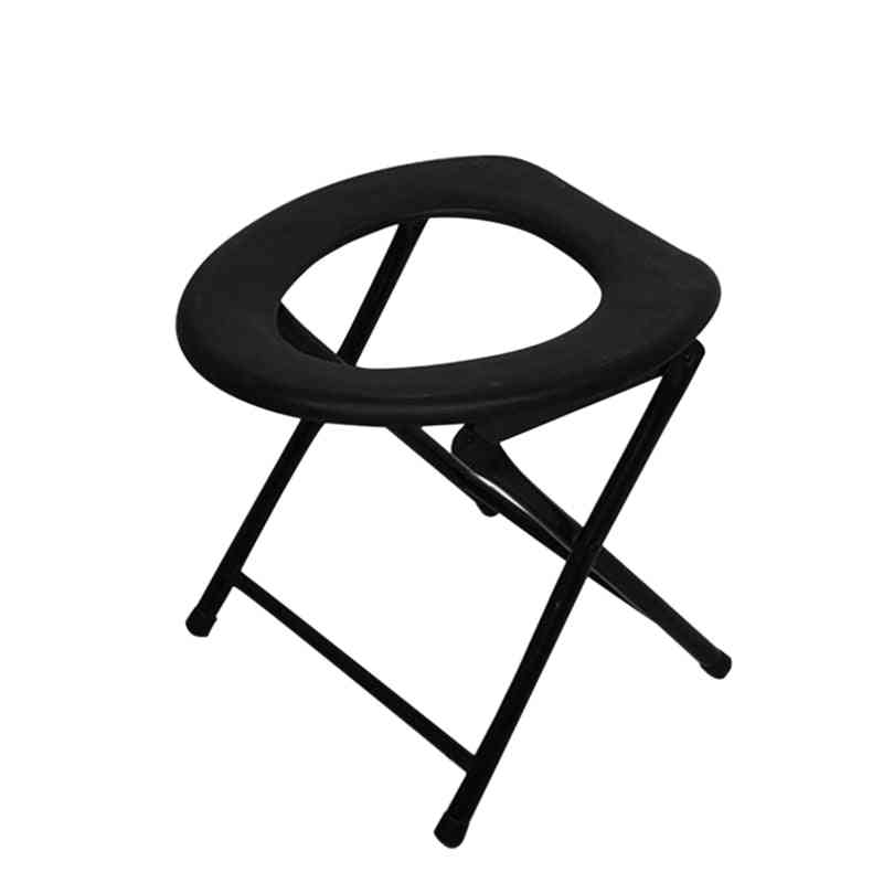 Portable Strengthened Foldable Toilet Chair