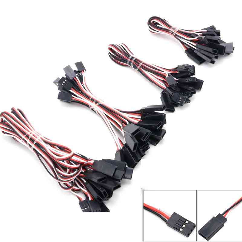 Rc Servo Extension Cord, Cable Wire Lead Jr For Helicopter Drone