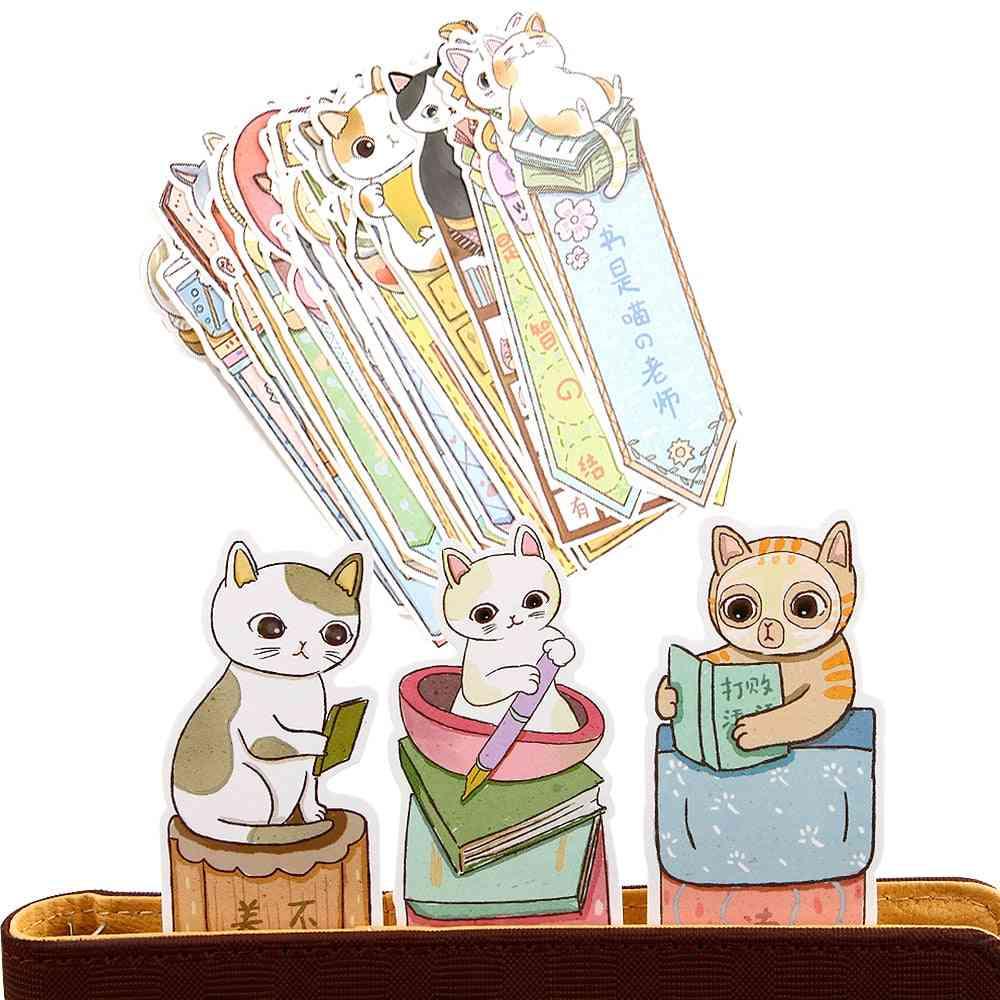 Paper Cartoon Animals Bookmark